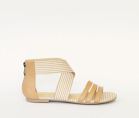Kanabis brown stripes sandals