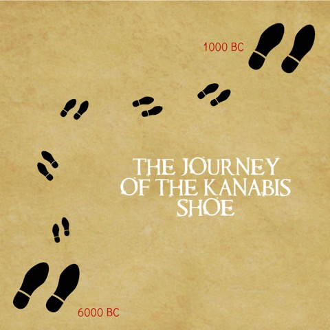 1000 BC tale of 2 shoes