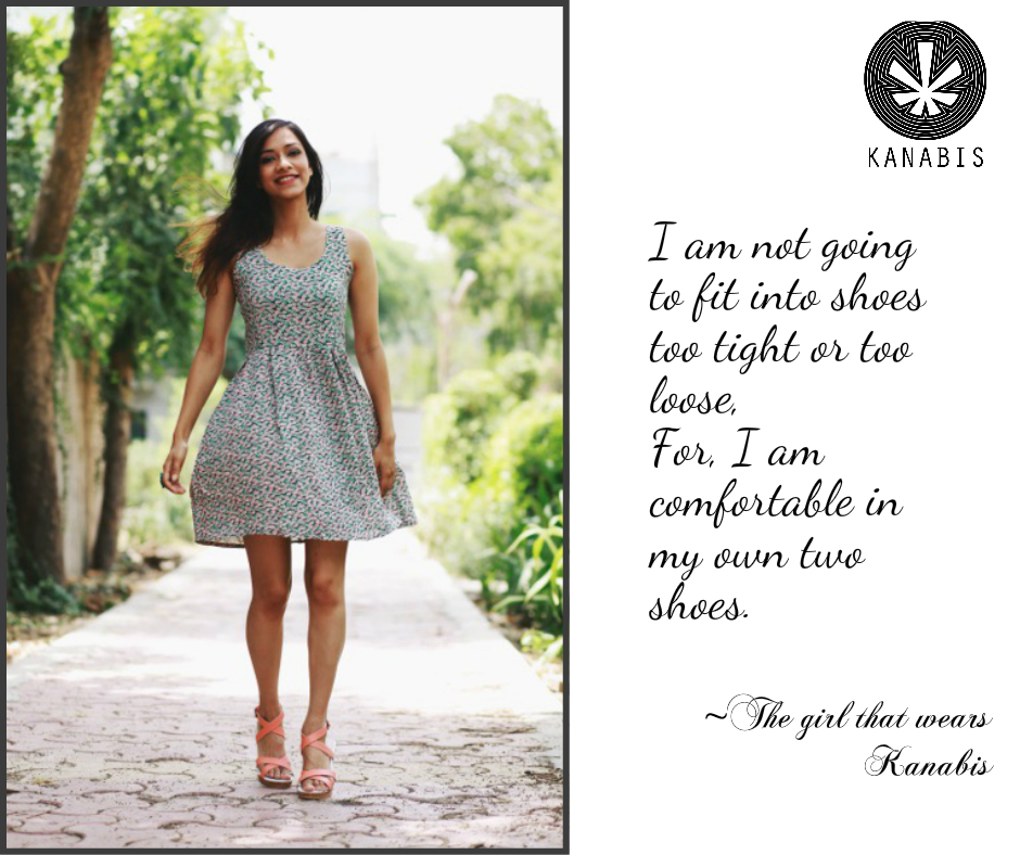 The girl that wears Kanabis