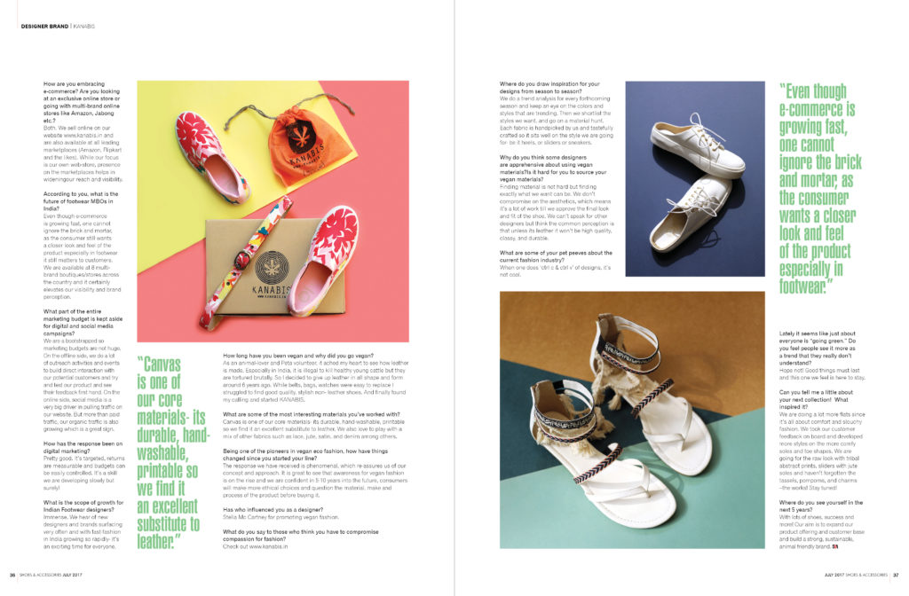 Kanabis in Shoes & Accessories July 2017