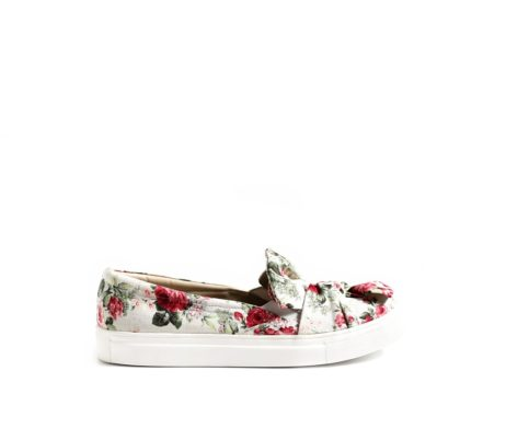 Be My Bow floral sneakers