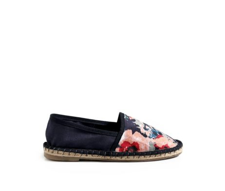 Colour me blue espadrilles