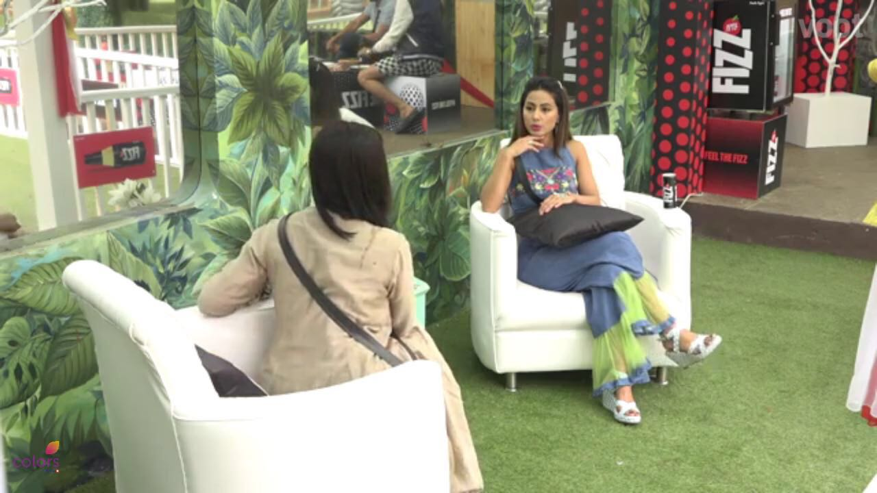 Hina Khan on Bigg Boss