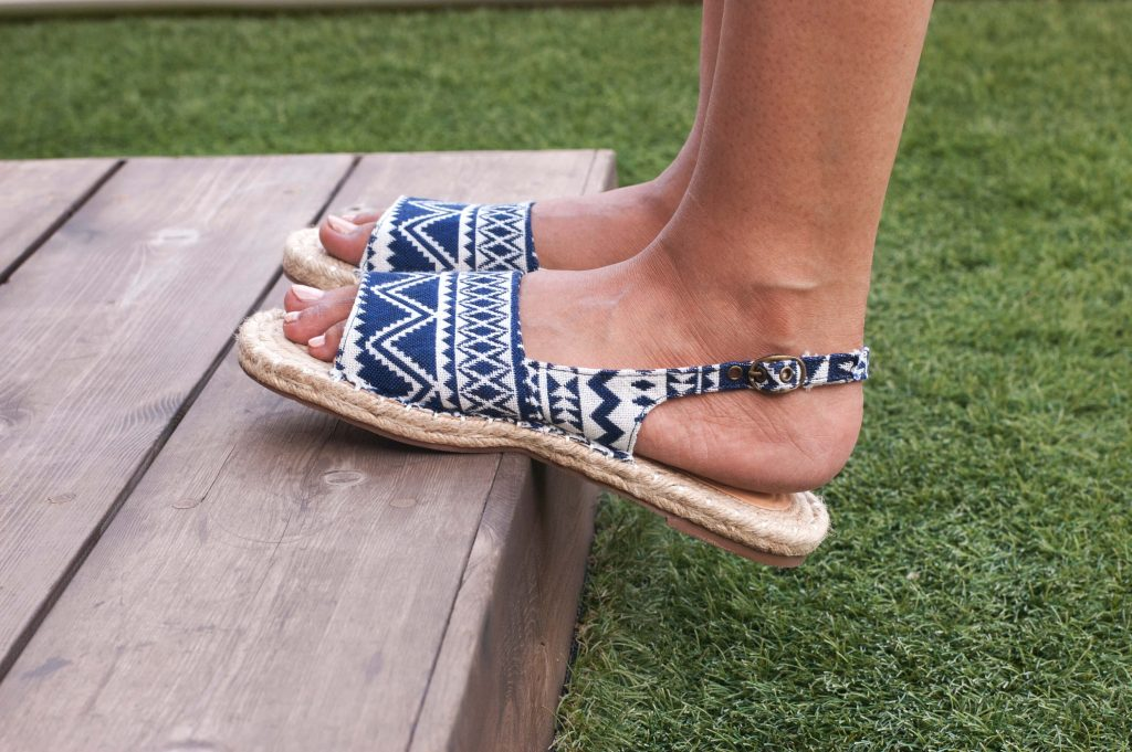 Kanabis Tribal Espadrille Sandals