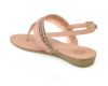 Kanabis Pinky Promise Pink T-Strap Sandals