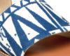 Kanabis Tan Tribe Blue & Tan Slip On Flats
