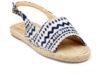 Kanabis Tribe Vibe Canvas & Jute Strap Sandal