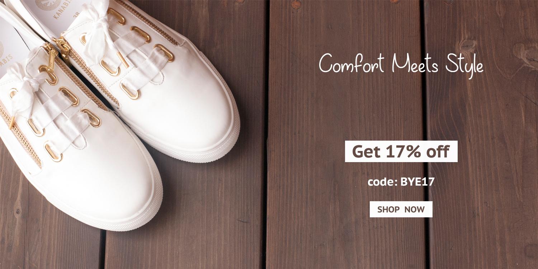 Kanabis White Sneakers Unicorns
