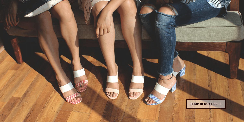 Kanabis block heels